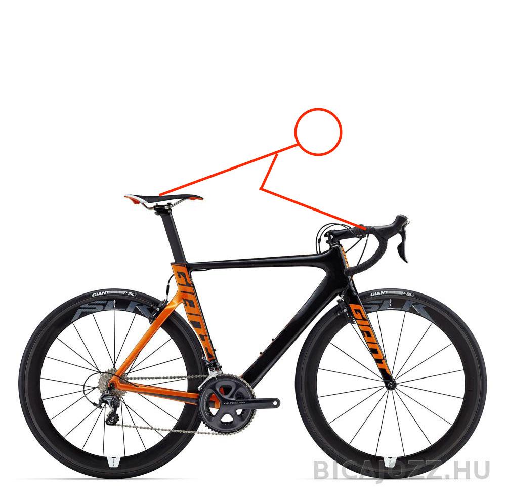 Komfort országúti kerékpár