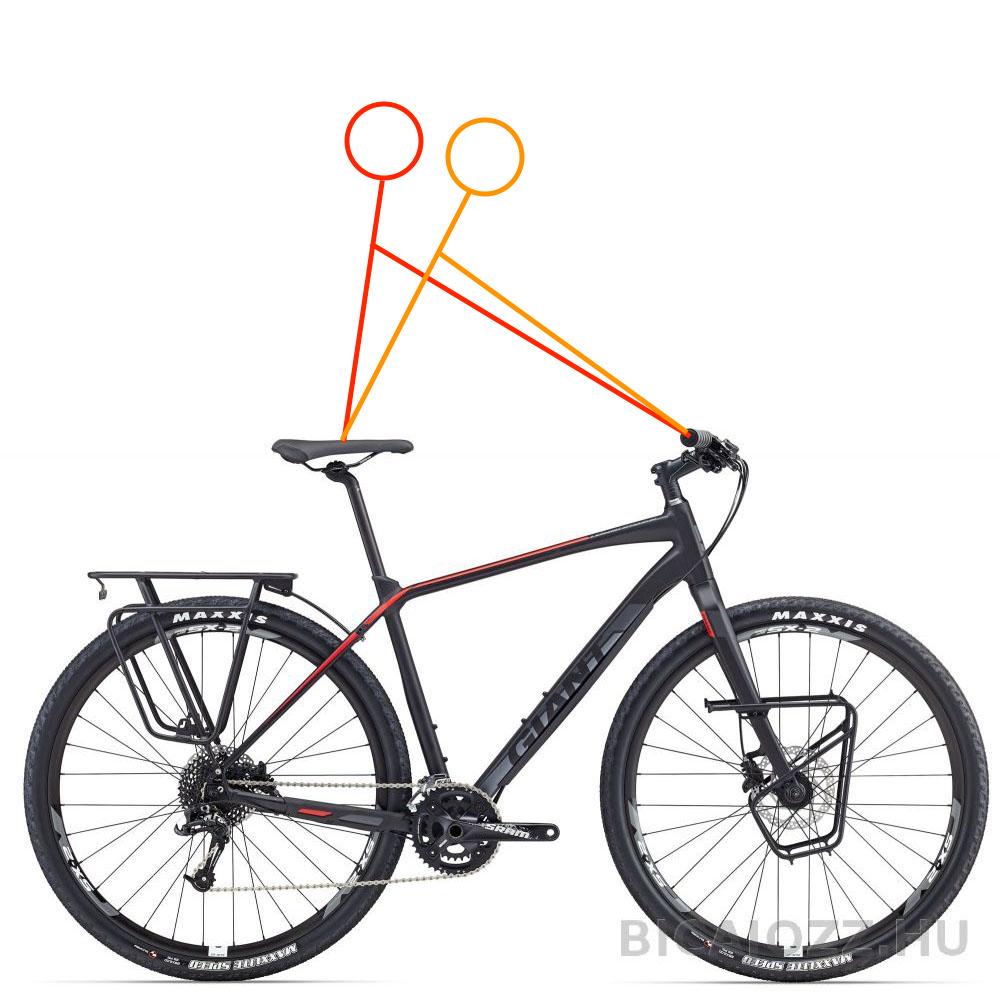 Kerékpár geometria beállítás